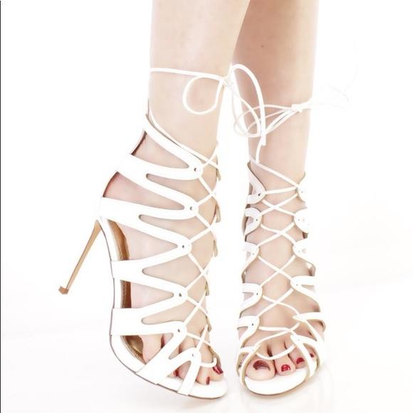 Cute White Heels